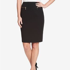 NWT Tommy Hilfiger Pencil Skirt in Black